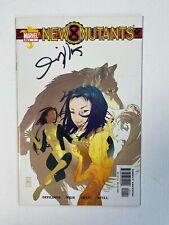 New Mutants #1 1st Wind Dancer 2003 Signed by Josh Middleton