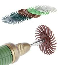 6 Pcs Detail Abrasive Brush Mixed Grit Coarse Tool Accessories For Rotary Tools