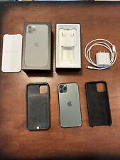 New listing Apple iPhone 11 Pro - 256Gb - MidnightGreen (Unlocked) A2160 Cdma Gsm + Extras