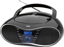AEG stereo Radio Cd-player SR 4380 DAB schwarz 400720 D