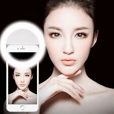 Hot Selfie LED Ring Fill Light Camera Photography For iPhone & Android Phone
