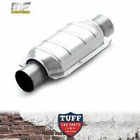 "Magnaflow High Flow 2"" Inch Catalytic Converter Stainless Steel Body 91004 New"