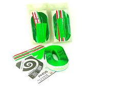 Ambrosio handlebar tape bar vintage road bicycle green NOS x 3 Packs