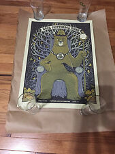 DAVE MATTHEWS BAND POSTER 8/31/13 GORGE KING BEAR WA RARE