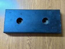 "Rubber Loading Dock Bumper Pad, 18"" x 8""x 2"", Used"