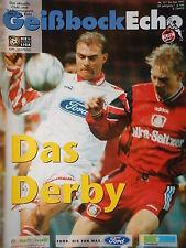 Programm 1996/97 1. FC Köln - Bayer Leverkusen