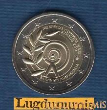 2 euro Commémo - Grèce 2011 Jeux Olympique Spéciaux 2011 Greece