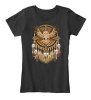 Native American Owl Women's Premium Tee T-Shirt