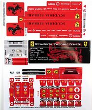 REPLACEMENT STICKERS for Lego 8654 FERRARI Truck with BONUS PLAQUE 'DIE CUT'