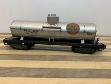 American Flyer No. 24309 GULF Silver Tanker car