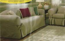 Sure Fit Sofa Slipcover Couch Cover Black* *New N Package* Furniture