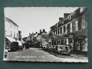 1950's VIEW - STONE STREET , CRANBROOK - CARS AND VANS