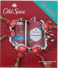 Old Spice Whitewater Deodorant Spray and Shower Gel Gift Set
