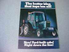 Ford Tracor Cab Farm Tractor Brochure               lw