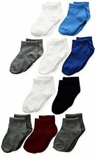 Hanes Toddler Boys Ankle Sock 10-Pack- Select SZ/Color.