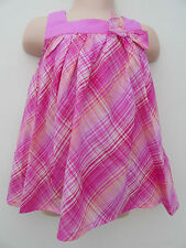Checked 100% Cotton Clothing (0-24 Months) for Girls