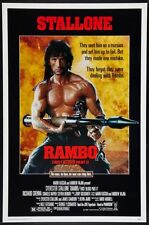 """RAMBO: FIRST BLOOD PART 2- orig 27x40 ROLLED """"A"""" movie poster SYLVESTER STALLONE"""