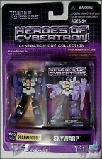 Transformers Heroes of Cybertron Decepticon Skywarp Action Figure NIB Hasbro