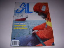 SAIL MAGAZINE, DECEMBER, 1985, NORTHERN LIGHT CONQUERS THE WHITE CONTNENT!
