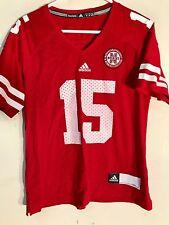 Adidas Women's NCAA Jersey Nebraska Huskers #15 Red sz L