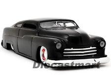 JADA 1:24 1951 MERCURY NEW DIECAST MODEL CAR BLACK WHITE WALL TIRES
