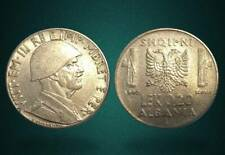 ALBANIA 1940 COIN - 0.20 LEK MAGNETIC - ITALY OCCUPATION - 106