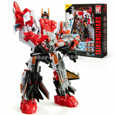 Superion Transformers 6 In 1 Action Figure Engineering Truck Robot KO in Stock