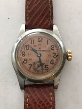 Vintage Rolex Oyster Stainless AS IS Men's Watch With Rolex Buckle