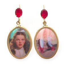 Tarina Tarantino Dorothy & Ruby Slippers Wizard of Oz Earrings ~Made in USA~