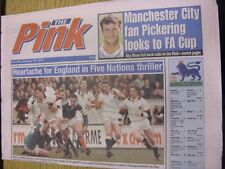 20/01/1996 Coventry Evening Telegraph The Pink: Main Headline Reads: Dublin Is C