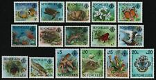 Seychellen 1977 - Mi-Nr. 394-409 I ** - MNH - Fauna & Flora (II)