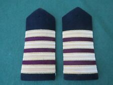 PAIR OF CRUISE LINER CHIEF ENGINEER OFFICERS EPAULETTES (NEW)