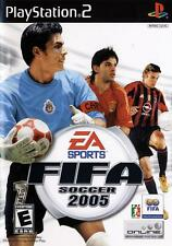 FIFA Soccer 2005 Video Game (Sony PlayStation 2, 2004) FREE SHIPPING