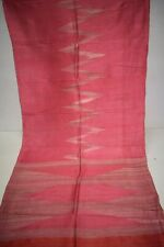Ethnic Patola Ikat Multi Heavy Saree Pure Khadi Silk Printed Fabric Woven Sari