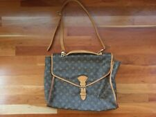 Louis Vuitton Beverly GM Briefcase Handbag Messenger Bag Satchel Purse LV Print