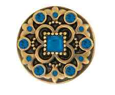 Ginger Snaps™ Brass Heyday-Blues- Jewelry - Buy 4, Get 5Th $6.95 Snap Free