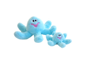 Blue Octopus - Dog/puppy Toy Gor Pets Mommy or Baby Gor Hugs Puppy Play