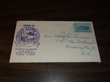 DECEMBER 1952 SILVERTON NARROW GAUGE SPECIAL COMMEMORATIVE ENVELOPE