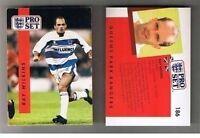 PROSET Pro Set 1990-91 football cards – VARIOUS Teams O to W