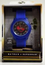 BATMAN vs SUPERMAN WATCH w LIGHTS 2016 DC Accutime MIB