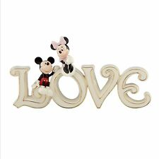 Disney Lenox Classics Mickey & Minnie Mouse True Love Figurine 827438