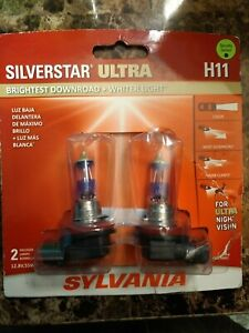 SYLVANIA H11 SilverStar Ultra High Performance Halogen Headlight Bulb