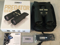 Steiner 10x42 Predator Binoculars Model 2444 Brand New Factory Sealed Box