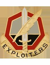 11 Phychological Operations Bn Unit Crest (Exploiters)