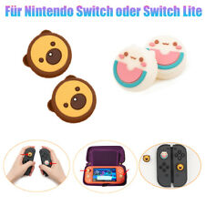 4*Niedliche Silikon-Joystickkappen Daumengriffe Für Nintendo Switch/Switch Lite