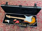 2002 Fender Standard MIM Stratocaster Sunburst with Hard Shell Case - Excellent!