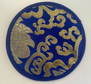 Tibetan Singing Bowl Cushion-Blue-12cm-FREE POSTAGE