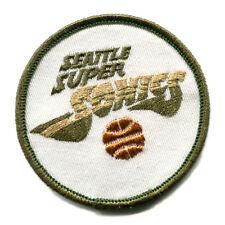 "1970'S SEATTLE SUPER SONICS NBA BASKETBALL VINTAGE 3"" OLD LOGO TEAM PATCH"