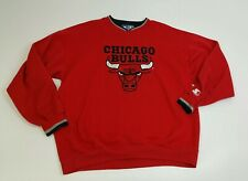 VTG CHICAGO BULLS Starter NBA Basketball Sweatshirt Size XXL USA