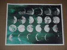 Precipice Jacob Bannon signed numbered screen print poster Converge Jane Doe